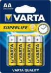 VARTA paristo SUPERLIFE AA R6P BLISTER 4 kpl